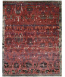 RugStudio presents Nourison Dune Dun02 Pomegranate Hand-Knotted, Good Quality Area Rug