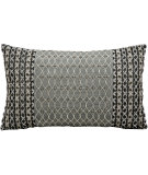 RugStudio presents Kathy Ireland Pillows E0005 Silver Grey