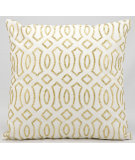 RugStudio presents Kathy Ireland Pillows E2930 White Gold