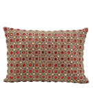 RugStudio presents Kathy Ireland Pillows E4152 Ruby