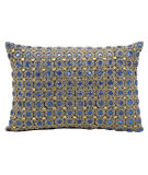 RugStudio presents Kathy Ireland Pillows E4152 Sapphire