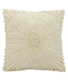 RugStudio presents Kathy Ireland Pillows E4155 Ivory