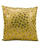 RugStudio presents Kathy Ireland Pillows E4156 Gold