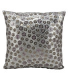 RugStudio presents Kathy Ireland Pillows E4156 Pewter