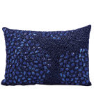 RugStudio presents Nourison Pillows Luminescence E5000 Navy