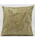 RugStudio presents Nourison Pillows Luminescence E5023 Silver Gold