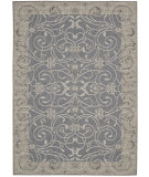 RugStudio presents Nourison Eclipse Ecl03 Blue Machine Woven, Good Quality Area Rug