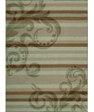 RugStudio presents Nourison Elements ELE-05 Sage Machine Woven, Good Quality Area Rug