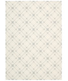 RugStudio presents Nourison Enhance En005 Ivory Gray Machine Woven, Good Quality Area Rug