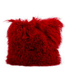 RugStudio presents Nourison Pillows Fur F7100 Red