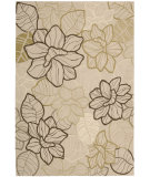 RugStudio presents Nourison Fantasy FA-05 Beige Hand-Hooked Area Rug