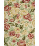 RugStudio presents Nourison Fantasy FA-17 Cream Hand-Hooked Area Rug