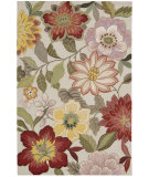 RugStudio presents Nourison Fantasy FA-18 Ivory Hand-Tufted, Good Quality Area Rug