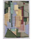 RugStudio presents Nourison Guggenheim Masters G-232 Multi Hand-Knotted, Best Quality Area Rug