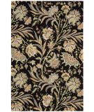 RugStudio presents Nourison Gatsby Gat01 Black Hand-Tufted, Best Quality Area Rug