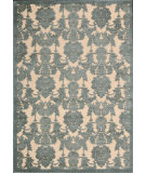 RugStudio presents Nourison Graphic Illusions GIL-03 Teal Machine Woven, Good Quality Area Rug