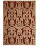 RugStudio presents Nourison Graphic Illusions Gil03 Red Machine Woven, Good Quality Area Rug