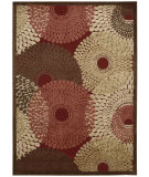 RugStudio presents Nourison Graphic Illusions Gil04 Red Machine Woven, Good Quality Area Rug