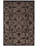 RugStudio presents Nourison Graphic Illusions Gil04 Black Machine Woven, Good Quality Area Rug