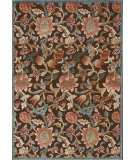 RugStudio presents Nourison Graphic Illusions GIL-06 Brown Machine Woven, Good Quality Area Rug