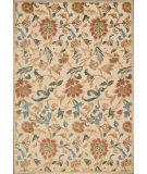 RugStudio presents Nourison Graphic Illusions GIL-06 Light Gold Machine Woven, Good Quality Area Rug