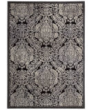 RugStudio presents Nourison Graphic Illusions Gil09 Black Machine Woven, Good Quality Area Rug