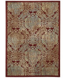 RugStudio presents Nourison Graphic Illusions Gil09 Red Machine Woven, Good Quality Area Rug