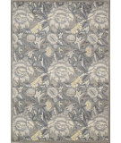 RugStudio presents Nourison Graphic Illusions GIL-10 Grey Machine Woven, Good Quality Area Rug