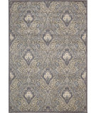 RugStudio presents Nourison Graphic Illusions GIL-11 Grey Machine Woven, Good Quality Area Rug