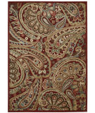 RugStudio presents Nourison Graphic Illusions Gil14 Red Machine Woven, Good Quality Area Rug