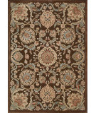 RugStudio presents Nourison Graphic Illusions GIL-17 Chocolate Machine Woven, Good Quality Area Rug
