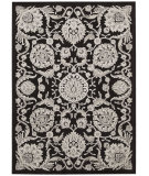 RugStudio presents Nourison Graphic Illusions Gil17 Black Machine Woven, Good Quality Area Rug