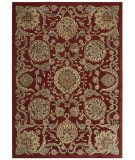 RugStudio presents Nourison Graphic Illusions Gil17 Red Machine Woven, Good Quality Area Rug