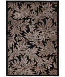 RugStudio presents Nourison Graphic Illusions Gil19 Black Machine Woven, Good Quality Area Rug