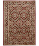RugStudio presents Nourison Graphic Illusions Gil24 Red Machine Woven, Good Quality Area Rug