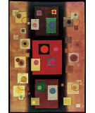 RugStudio presents Nourison Guggenheim Modern Art GM-03 Mocha Hand-Tufted, Good Quality Area Rug