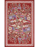 RugStudio presents Nourison Country Heritage H-002 Red Hand-Hooked Area Rug