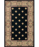 RugStudio presents Nourison Country Heritage H455 Black Hand-Hooked Area Rug