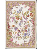 RugStudio presents Nourison Country Heritage H-497 Ivory Hand-Hooked Area Rug