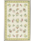 RugStudio presents Nourison Country Heritage H-560 Ivory Hand-Hooked Area Rug