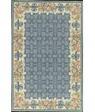 RugStudio presents Nourison Country Heritage H-561 Blue Hand-Hooked Area Rug