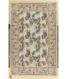 RugStudio presents Nourison Country Heritage H-582 Beige Hand-Hooked Area Rug