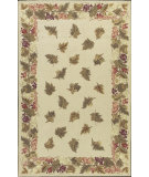 RugStudio presents Nourison Country Heritage H-616 Beige Hand-Hooked Area Rug