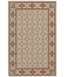 RugStudio presents Nourison Country Heritage H-692 Gold Hand-Hooked Area Rug