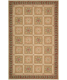 RugStudio presents Nourison Country Heritage H-695 Beige Hand-Hooked Area Rug