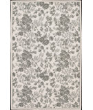 RugStudio presents Rugstudio Sample Sale 45124R Ivory Green Hand-Hooked Area Rug