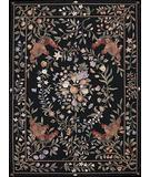 RugStudio presents Nourison Country Heritage H-723 Black Hand-Hooked Area Rug