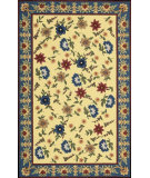 RugStudio presents Nourison Country Heritage H-802 Yellow Hand-Hooked Area Rug