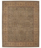 RugStudio presents Nourison Heritage Hall HE-02 Green Hand-Tufted, Better Quality Area Rug