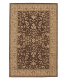 RugStudio presents Nourison Heritage Hall HE05 Brown Hand-Tufted, Best Quality Area Rug
